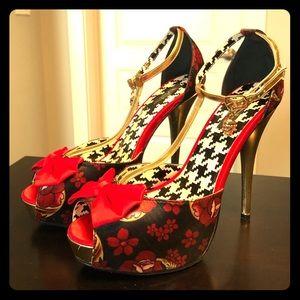 Iron fist sugar skull heels